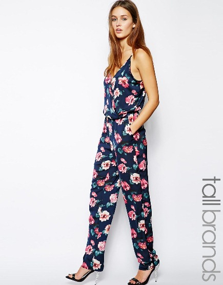 Glamorous Tall Floral Jumpsuit
